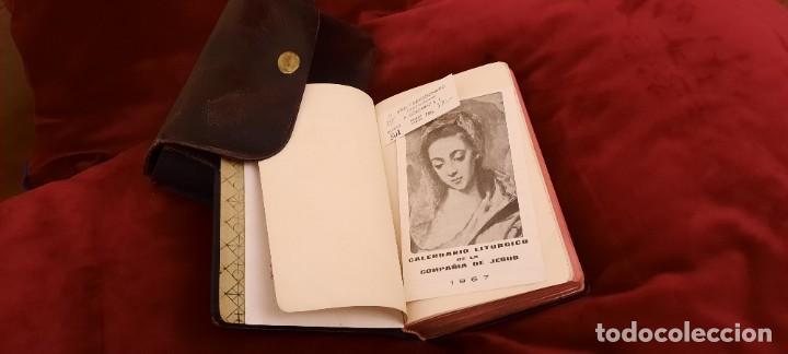 Libros de segunda mano: MISAL Y DEVOCIONARIO CON SU FUNDA DE CUERO - Foto 9 - 236436400