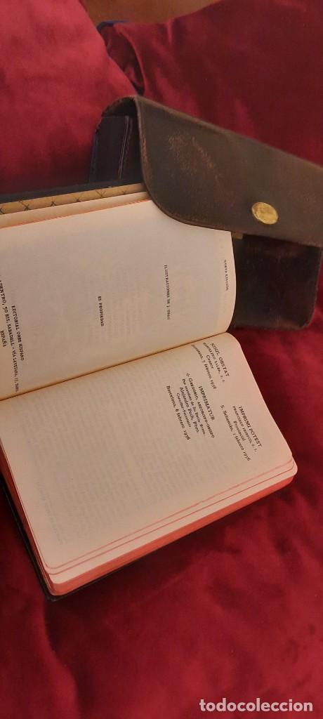 Libros de segunda mano: MISAL Y DEVOCIONARIO CON SU FUNDA DE CUERO - Foto 11 - 236436400