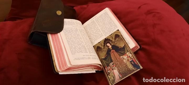 Libros de segunda mano: MISAL Y DEVOCIONARIO CON SU FUNDA DE CUERO - Foto 13 - 236436400