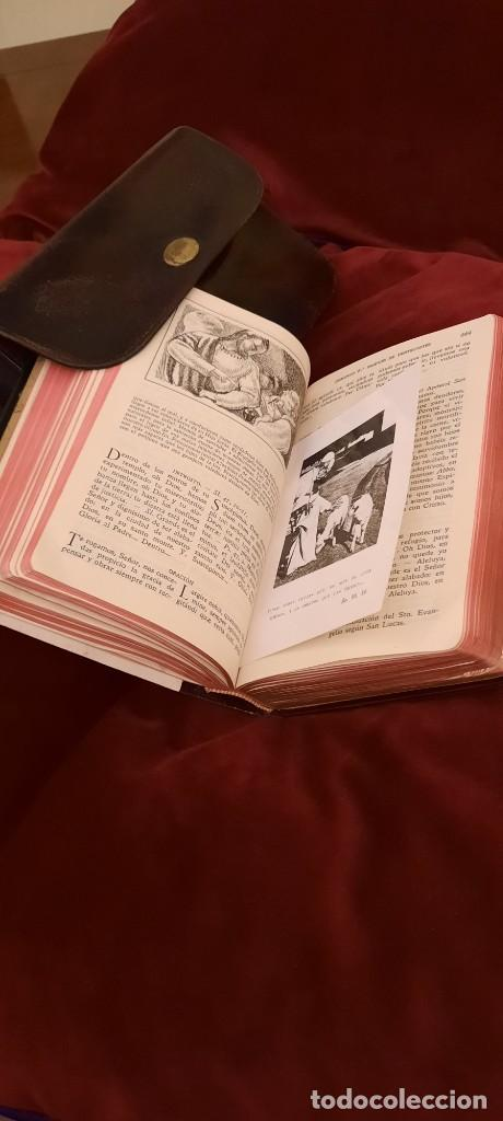 Libros de segunda mano: MISAL Y DEVOCIONARIO CON SU FUNDA DE CUERO - Foto 14 - 236436400