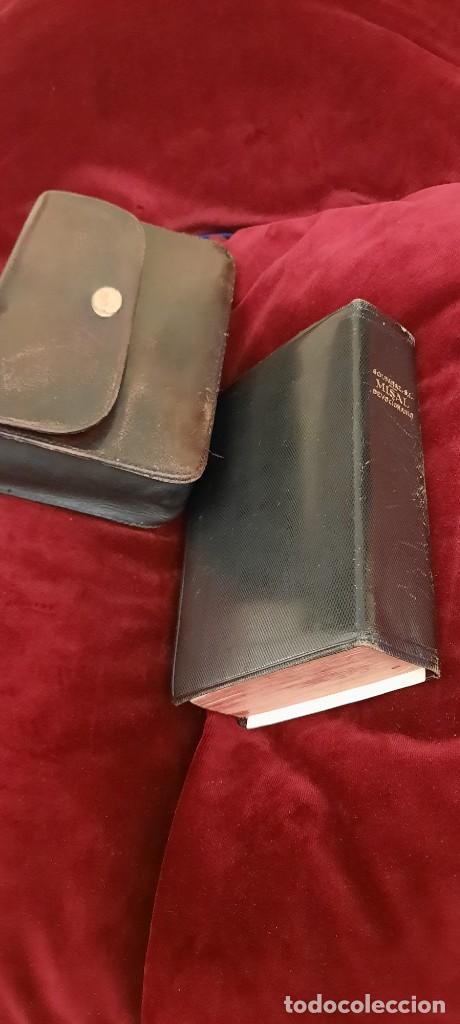 Libros de segunda mano: MISAL Y DEVOCIONARIO CON SU FUNDA DE CUERO - Foto 15 - 236436400