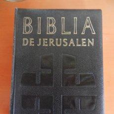 Libros de segunda mano: BIBLIA DE JERUSALEN - EDITORIAL DESCLEE DE BROUWER -1967- CIRCULO DE LECTORES - CUERO. -. Lote 236539865