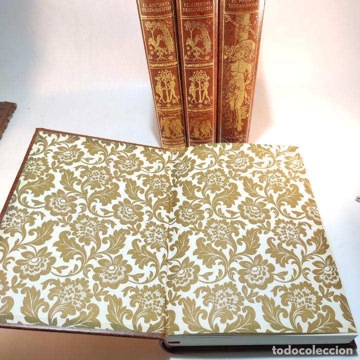 Libros de segunda mano: El antiguo y nuevo testamento. Traducido de la Vulgata por D. Feliz Torres Amat. Ed. Bibliófilos. - Foto 3 - 236549235