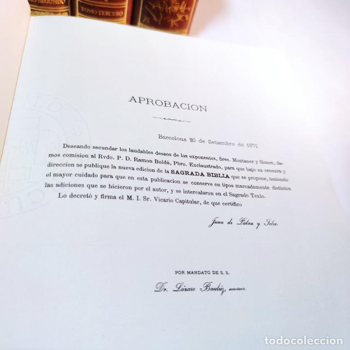 Libros de segunda mano: El antiguo y nuevo testamento. Traducido de la Vulgata por D. Feliz Torres Amat. Ed. Bibliófilos. - Foto 7 - 236549235