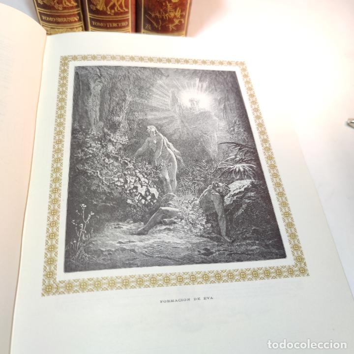 Libros de segunda mano: El antiguo y nuevo testamento. Traducido de la Vulgata por D. Feliz Torres Amat. Ed. Bibliófilos. - Foto 11 - 236549235