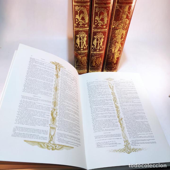 Libros de segunda mano: El antiguo y nuevo testamento. Traducido de la Vulgata por D. Feliz Torres Amat. Ed. Bibliófilos. - Foto 12 - 236549235