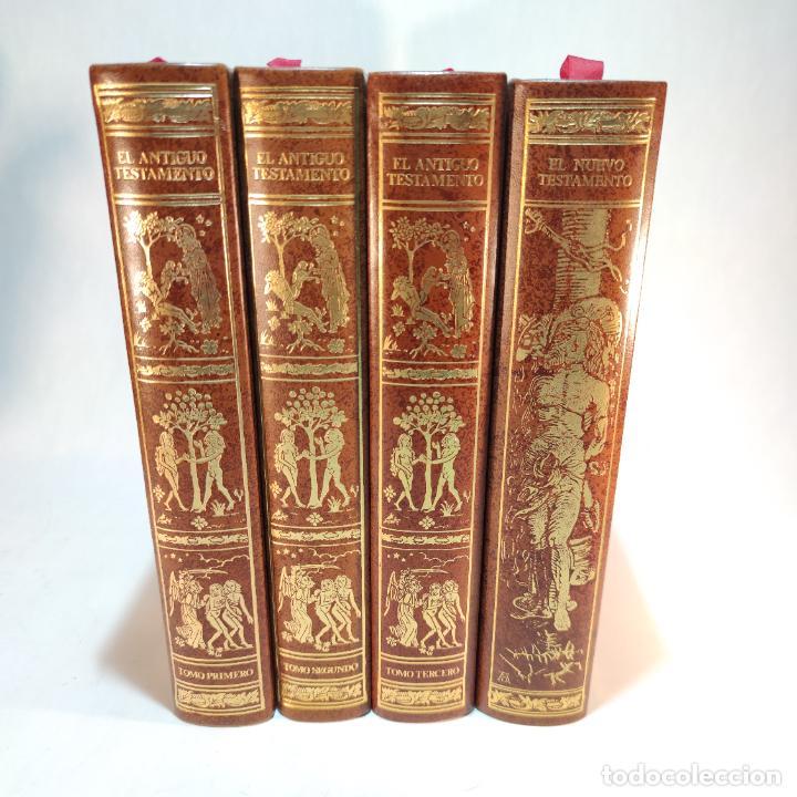 EL ANTIGUO Y NUEVO TESTAMENTO. TRADUCIDO DE LA VULGATA POR D. FELIZ TORRES AMAT. ED. BIBLIÓFILOS. (Libros de Segunda Mano - Religión)