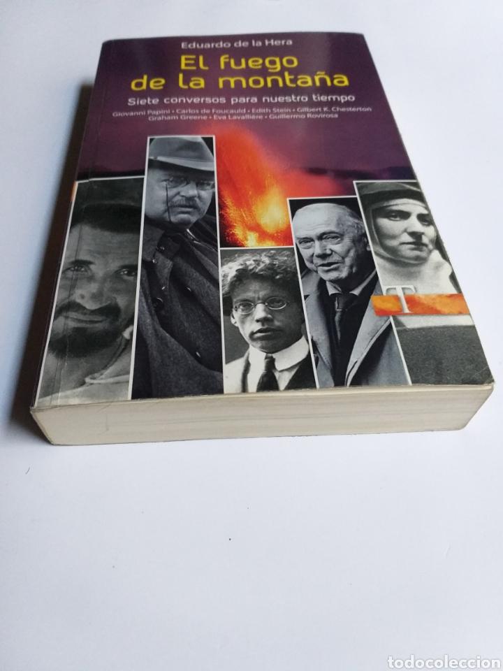 Libros de segunda mano: El fuego de la montaña. Siete conversos para nuestro tiempo. Papini Edith Stein Chesterton Gra - Foto 2 - 236594775