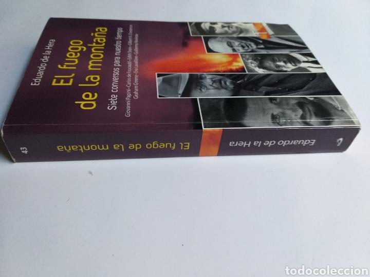 Libros de segunda mano: El fuego de la montaña. Siete conversos para nuestro tiempo. Papini Edith Stein Chesterton Gra - Foto 3 - 236594775