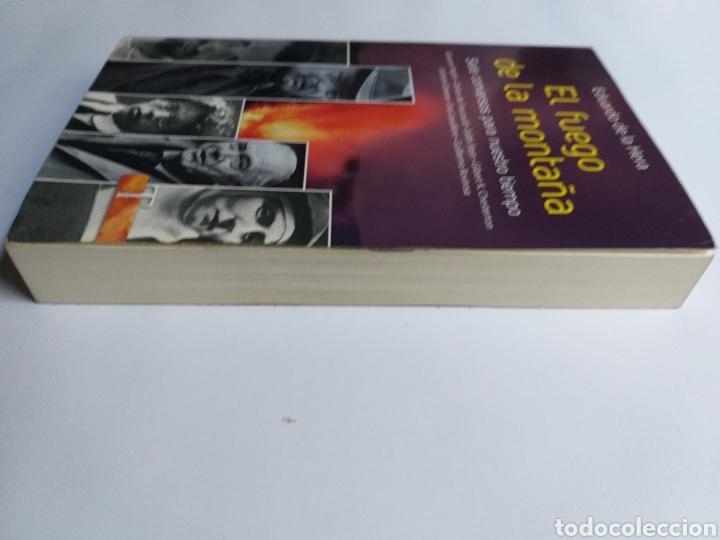Libros de segunda mano: El fuego de la montaña. Siete conversos para nuestro tiempo. Papini Edith Stein Chesterton Gra - Foto 5 - 236594775