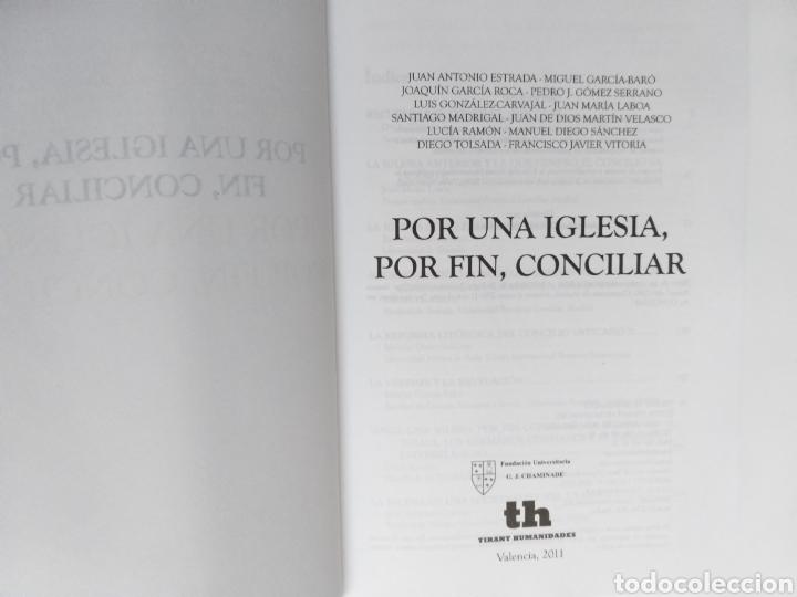 Libros de segunda mano: Por una iglesia por fin conciliar - Foto 5 - 236599920