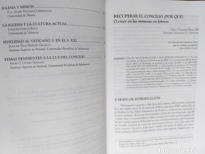 Libros de segunda mano: Por una iglesia por fin conciliar - Foto 7 - 236599920