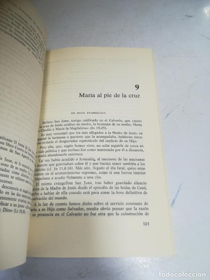 Libros de segunda mano: EL MISTERIO DE MARIA. JOSE MARIA CARDA PITARCH. BIBLIOTECA BASICA DEL CREYENTE. 2º ED. 204 PAG - Foto 3 - 236616980