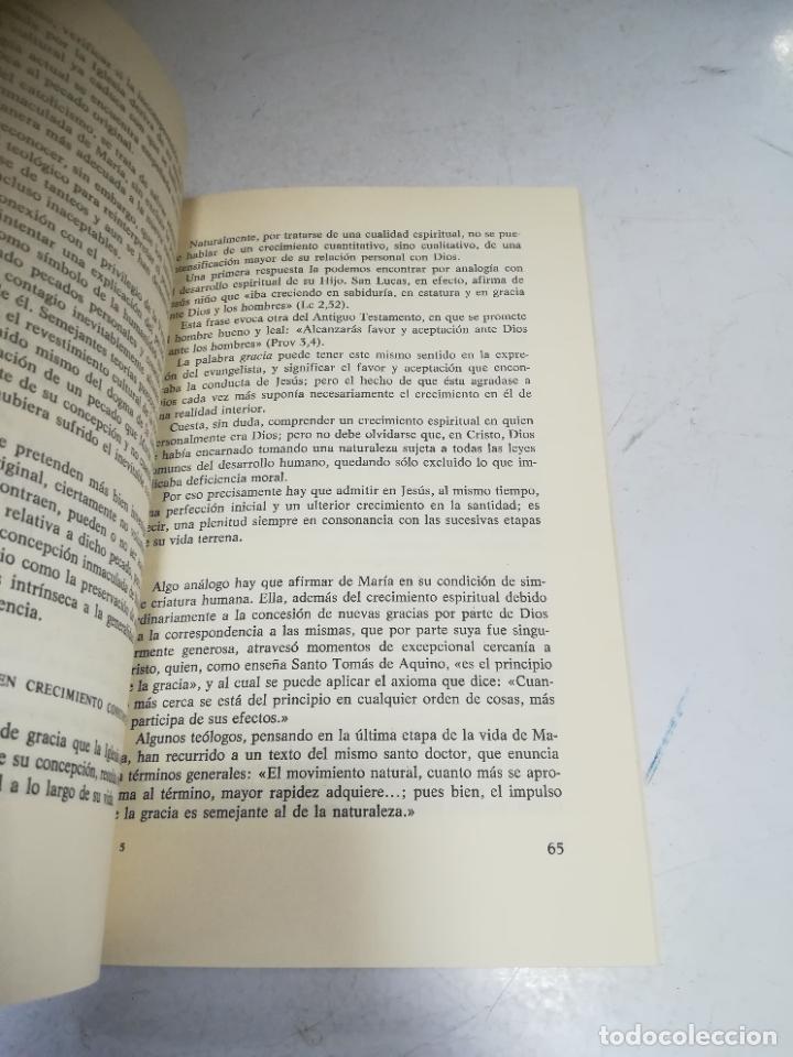 Libros de segunda mano: EL MISTERIO DE MARIA. JOSE MARIA CARDA PITARCH. BIBLIOTECA BASICA DEL CREYENTE. 2º ED. 204 PAG - Foto 4 - 236616980