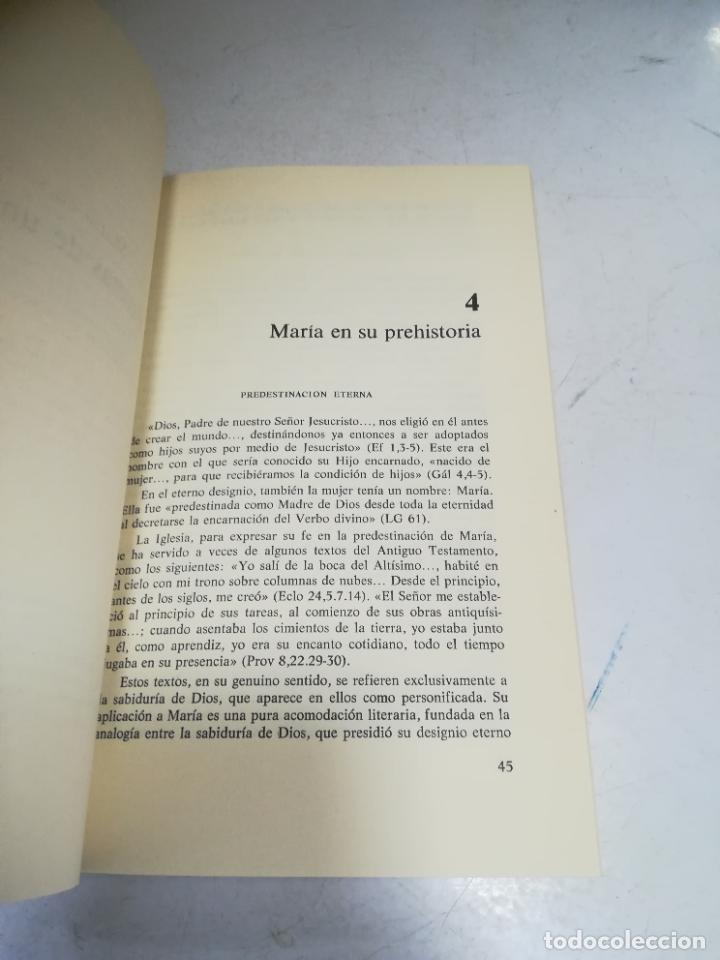 Libros de segunda mano: EL MISTERIO DE MARIA. JOSE MARIA CARDA PITARCH. BIBLIOTECA BASICA DEL CREYENTE. 2º ED. 204 PAG - Foto 5 - 236616980