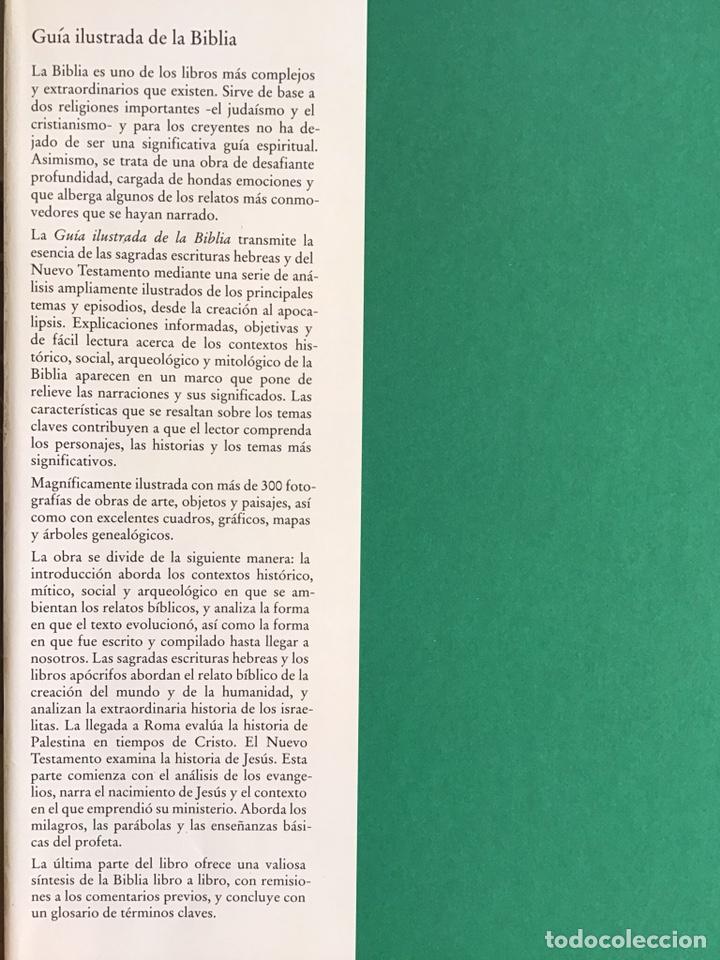 Libros de segunda mano: GUIA ILUSTRADA DE LA BIBLIA / J. R. PORTER / DEBATE-CÍRCULO DE LECTORES - Foto 2 - 236618950