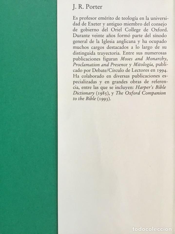 Libros de segunda mano: GUIA ILUSTRADA DE LA BIBLIA / J. R. PORTER / DEBATE-CÍRCULO DE LECTORES - Foto 3 - 236618950