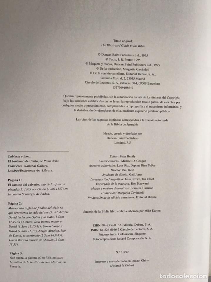 Libros de segunda mano: GUIA ILUSTRADA DE LA BIBLIA / J. R. PORTER / DEBATE-CÍRCULO DE LECTORES - Foto 5 - 236618950