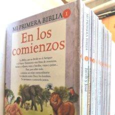 Libros de segunda mano: MI PRIMERA BIBLIA *** COLECCIÓN COMPLETA 20 EJEMPLARES (BILLIKEN) *** LIBROS RELIGIÓN. Lote 236684450