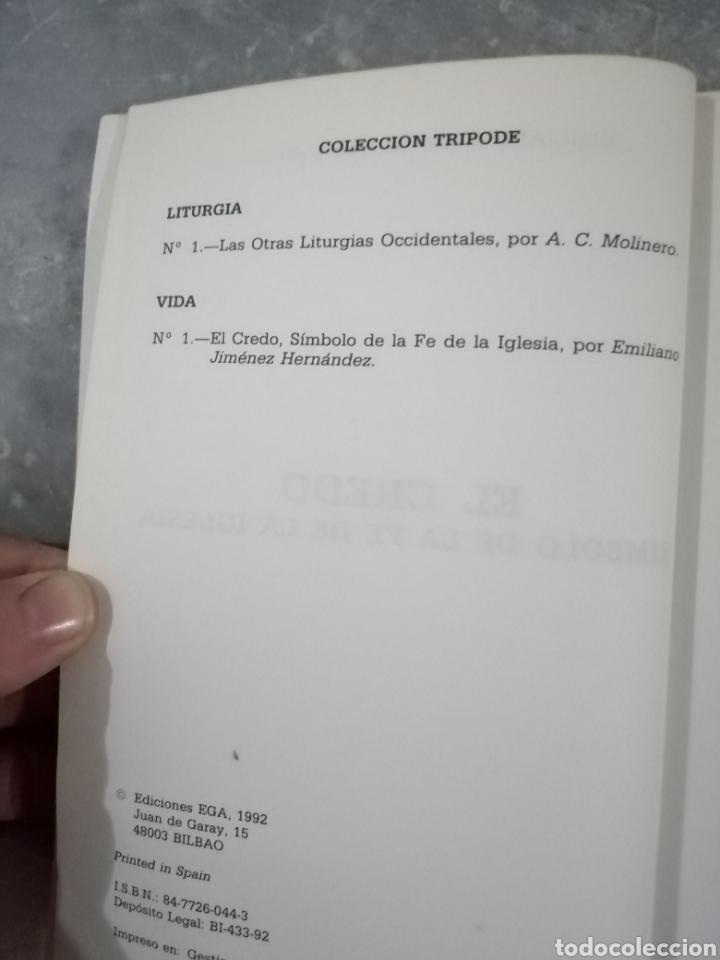 Libros de segunda mano: El credo símbolo de la fe de la iglesia - Foto 3 - 237023415