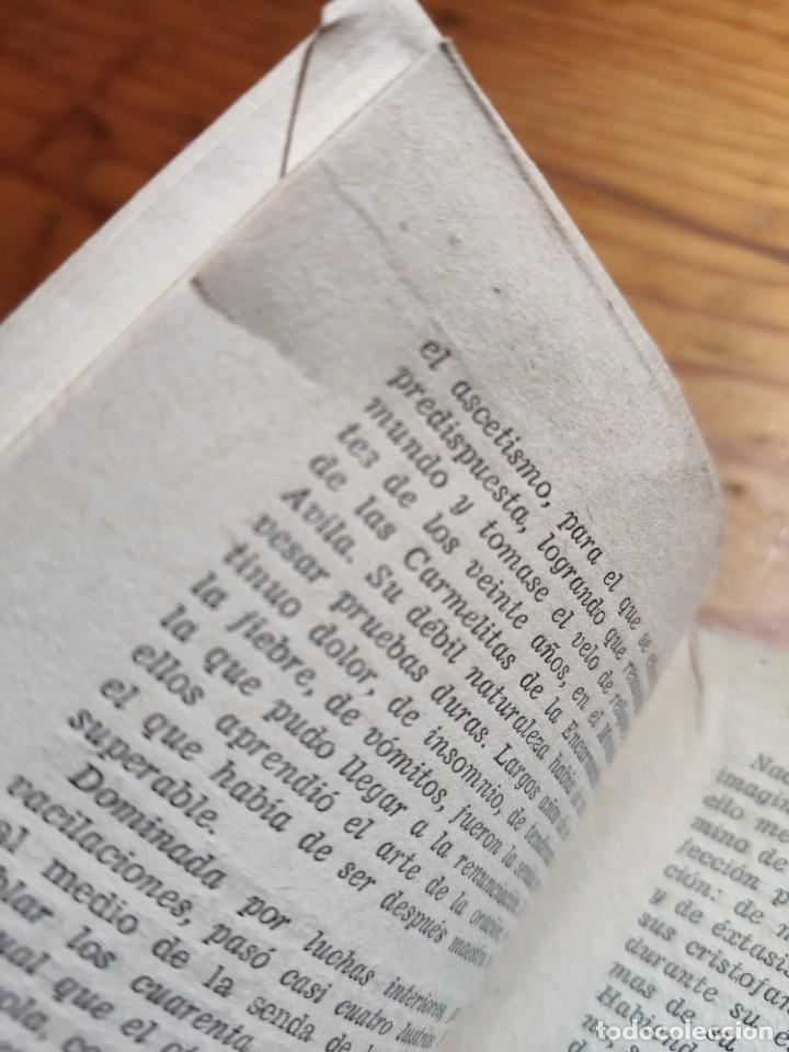 Libros de segunda mano: SANTA TERESA. POESIAS. EDITORIAL TIPOGRAFIA MODERNA. - Foto 3 - 237024970