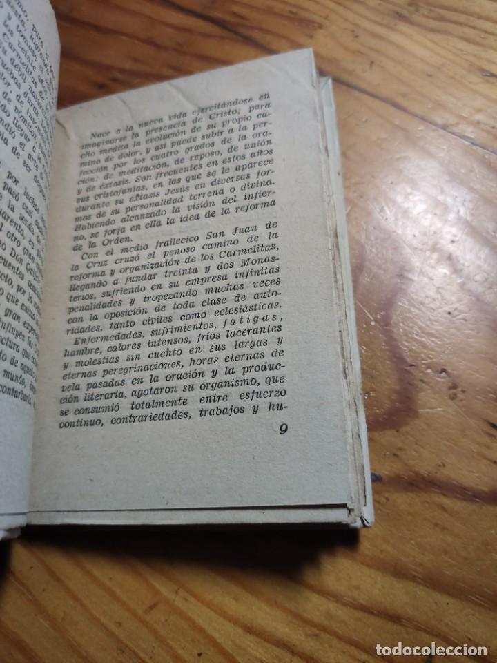 Libros de segunda mano: SANTA TERESA. POESIAS. EDITORIAL TIPOGRAFIA MODERNA. - Foto 4 - 237024970