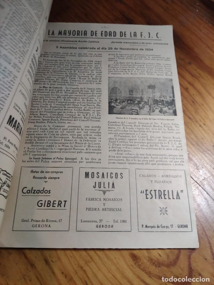 Libros de segunda mano: IRCULAR DEL CONSEJO DIOCESANO DE LOS JÓVENES DE ACCIÓN CATÓLICA Nº 71 - GERONA AÑO 1949 - Foto 2 - 237025250