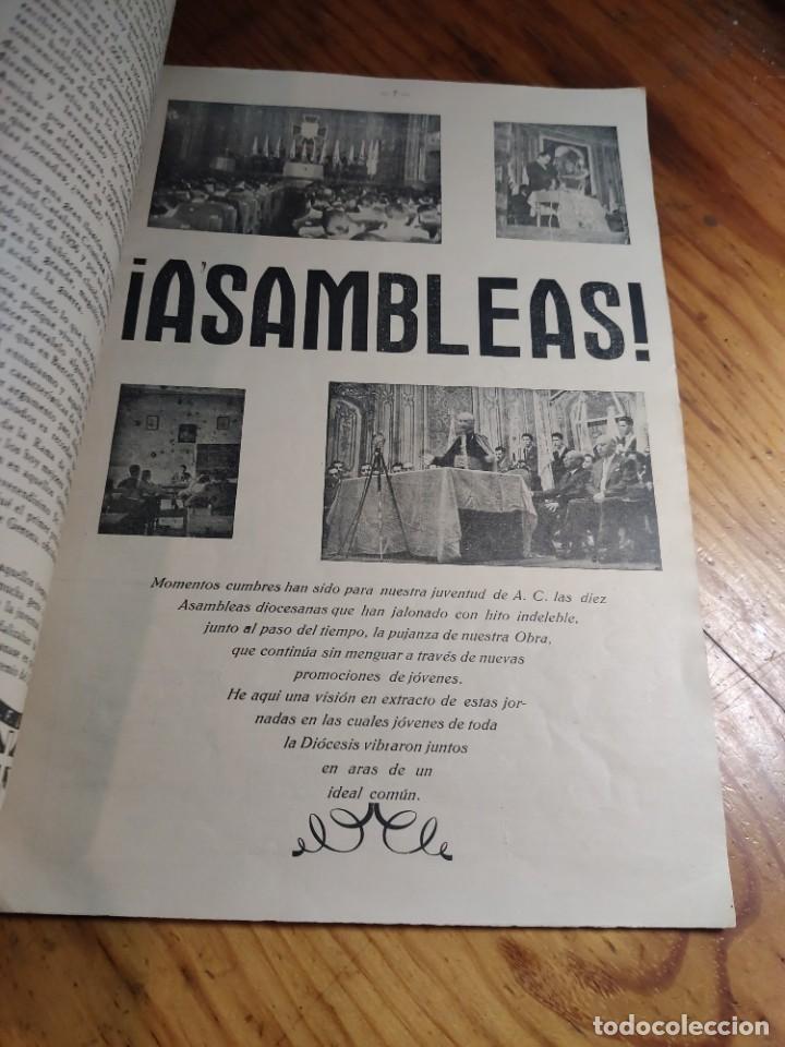 Libros de segunda mano: IRCULAR DEL CONSEJO DIOCESANO DE LOS JÓVENES DE ACCIÓN CATÓLICA Nº 71 - GERONA AÑO 1949 - Foto 4 - 237025250