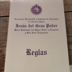 Libros de segunda mano: SEMANA SANTA DOS HERMANAS, 1994, REGLAS HERMANDAD NTRO.PADRE JESUS DEL GRAN PODER. Lote 237077825