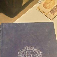 Libros de segunda mano: SEVILLA PENITENTE TOMO LLL EDITORIAL GEVER TERCIOPELO AZUL. Lote 237556275