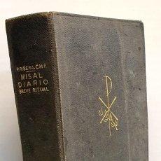 Libros de segunda mano: MISAL DIARIO COMPLETO. Lote 238330255