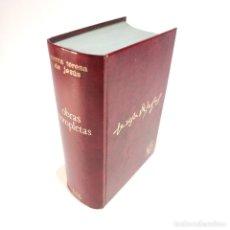 Libros de segunda mano: OBRAS COMPLETAS. SANTA TERESA DE JESÚS. 2ª EDICIÓN. EDITORIAL DE ESPIRITUALIDAD. 2223 PÁGINAS.. Lote 238572075