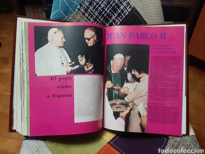 Libros de segunda mano: 3 Libros Juan Pablo II y nuestro tiempo (Tomos I, II y III) - Foto 6 - 238675365