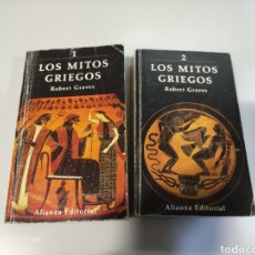 Libros de segunda mano: LOS MITOS GRIEGOS. ROBERT GRAVES. Lote 241006245