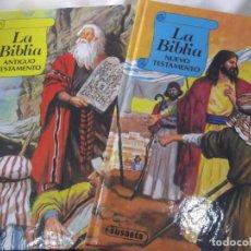 Libros de segunda mano: LA BIBLIA NUEVO Y VIEJO TESTAMENTO DE SUSAETA EDICCIONES, S. A. DOS TOMOS CON FUNDA.. Lote 241394625