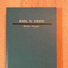 Libros de segunda mano: JESÚS, EL CRISTO. WALTER KASPER. EDICIONES SÍGUEME SALAMANCA.. Lote 270179638