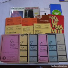 Libros de segunda mano: LOTE 17 LIBROS DE TEMATICA RELIGIOSA - EN CATALAN. Lote 242482775