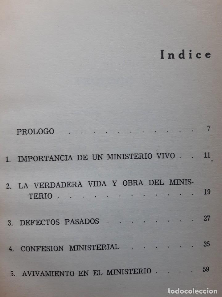 Libros de segunda mano: CONSEJO A LOS GANADORES DE ALMAS Horatius Bonar Clie 1982 EVANGELICO EVANGELISMO - Foto 8 - 243311785