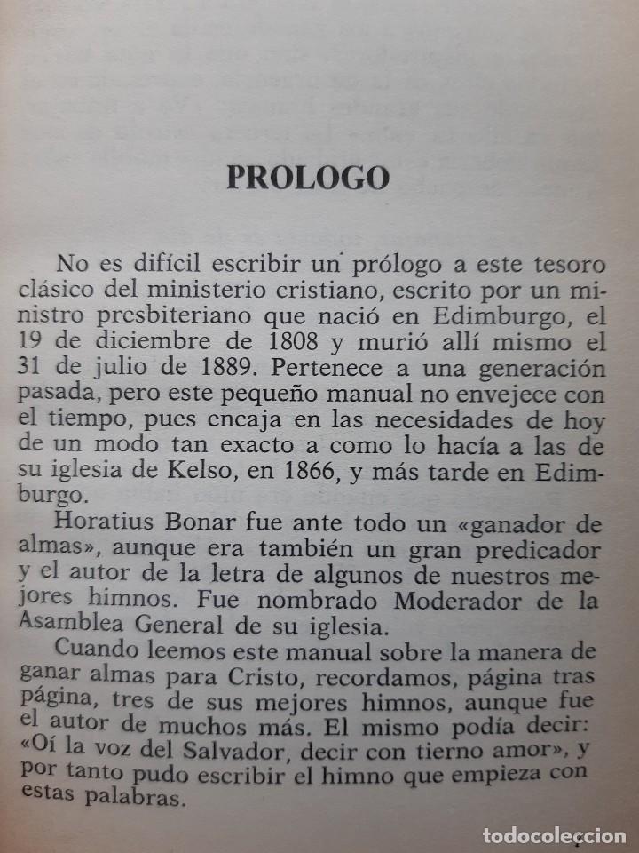 Libros de segunda mano: CONSEJO A LOS GANADORES DE ALMAS Horatius Bonar Clie 1982 EVANGELICO EVANGELISMO - Foto 9 - 243311785