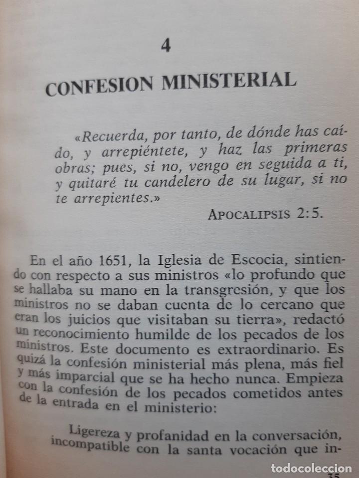 Libros de segunda mano: CONSEJO A LOS GANADORES DE ALMAS Horatius Bonar Clie 1982 EVANGELICO EVANGELISMO - Foto 13 - 243311785