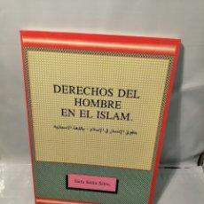 Libros de segunda mano: LOS DERECHOS DEL HOMBRE EN EL ISLAM (PRIMERA EDICIÓN). Lote 243821885