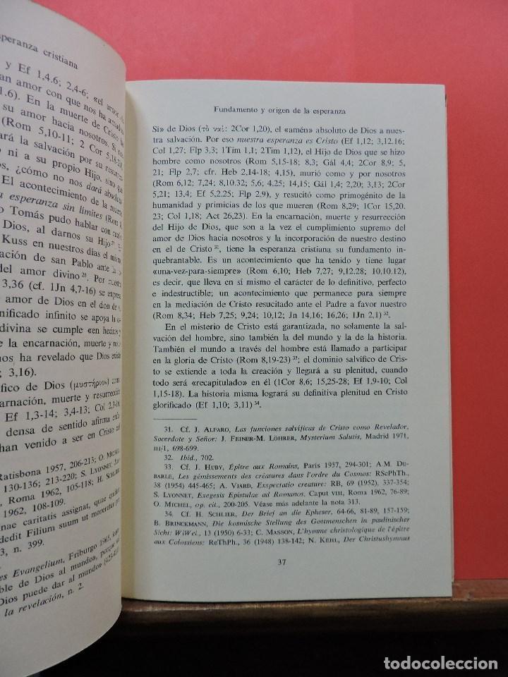 Libros de segunda mano: Esperanza cristiana y liberación del hombre. ALFARO, Juan. Editorial Herder 1972 - Foto 3 - 244508905