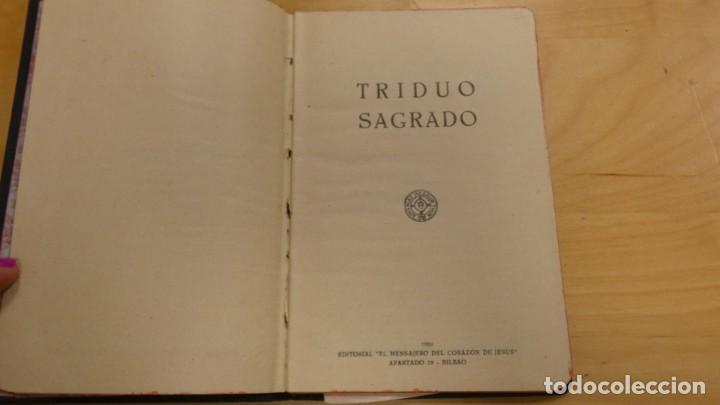 Libros de segunda mano: SEMANA SANTA . TRIDUO SAGRADO . 1956 - Foto 2 - 244510045