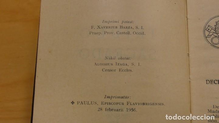 Libros de segunda mano: SEMANA SANTA . TRIDUO SAGRADO . 1956 - Foto 3 - 244510045