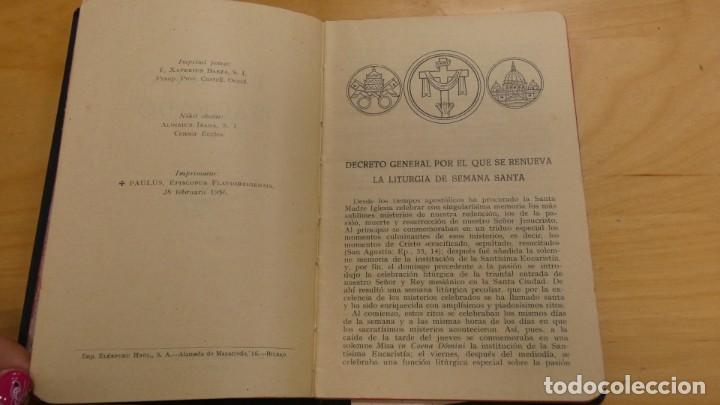 Libros de segunda mano: SEMANA SANTA . TRIDUO SAGRADO . 1956 - Foto 4 - 244510045