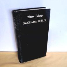 Libros de segunda mano: ELOINO NACAR FUSTER Y ALBERTO COLUNGA CUETO - SAGRADA BIBLIA 1966. Lote 244963055
