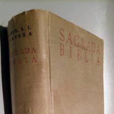 Libros de segunda mano: SAGRADA BIBLIA - VERSION CRITICA SOBRE LOS TEXTOS HEBREO Y GRIEGO - BOVER CANTERA - 1951 - 2 EDICION. Lote 244964975