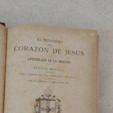 Libros de segunda mano: EL MENSAJERO DEL CORAZÓN DE JESÚS. VV. AA. 1898, PYMY 58. Lote 245610630
