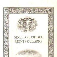 Libros de segunda mano: SEVILLA AL PIE DEL MONTE CALVARIO. PACHÓN CAPITAN, FRANCISCO. A-SESANTA-2057. Lote 245639925
