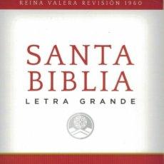 Livres d'occasion: SANTA BIBLIA. / REINA-VALERA REVISIÓN 1960. LETRA GRANDE. Lote 247144590